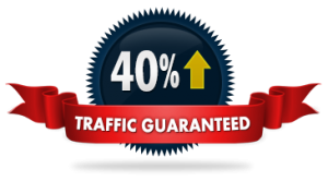 forty percent traffic increase guarantee